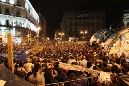Apoyo mayoritario de los españoles a los 'indignados'