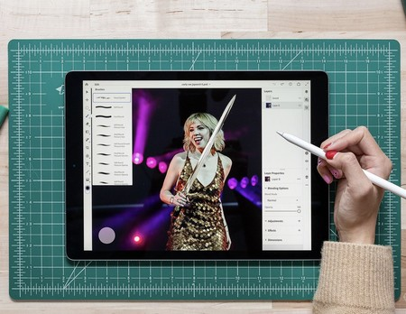 photoshop en el iPad Pro
