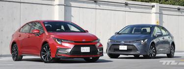 Toyota Corolla Hybrid vs. SE, comparativa: si cuestan lo mismo, ¿cuánto ahorras o qué sacrificas?