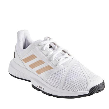 Zapatillas De Tenis Adidas Courtjam Bounce Mujer Blanco