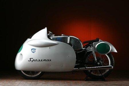 NSU Sportmax, una carreras cliente de los años cincuenta