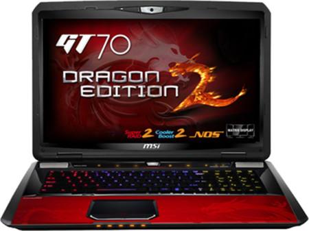 El próximo MSI GT70 'Dragon Edition 2' se prepara para volar muy alto
