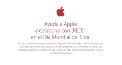Apple se vuelca en el Día Mundial contra el SIDA con el proyecto (RED)