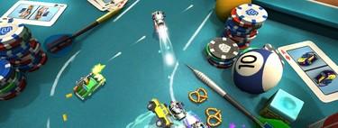 Estas son las alternativas actuales a Micro Machines World Series con modo local para cuatro jugadores