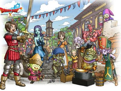 ¡Confirmado! Dragon Quest X también llegará a Nintendo NX