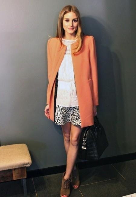 El día en que Olivia Palermo vistió con un total look de Zara (a excepción de los complementos, claro...)
