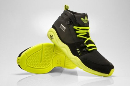Adidas Originals Fortitude Mid Neon