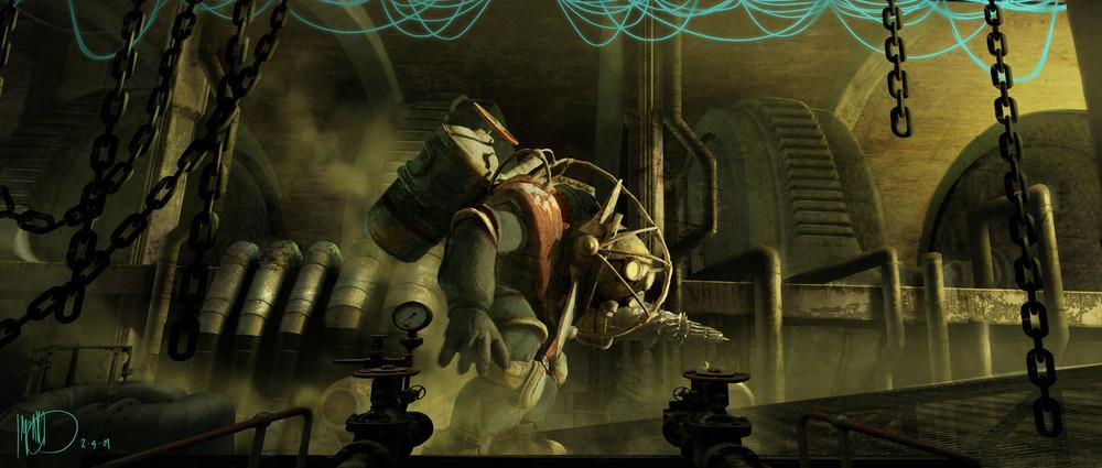 'BioShock', imágenes del arte conceptual