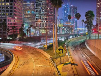 Los Ángeles bajo la lupa en un timelapse rodado en 12K con un respaldo digital de 100 megapíxeles