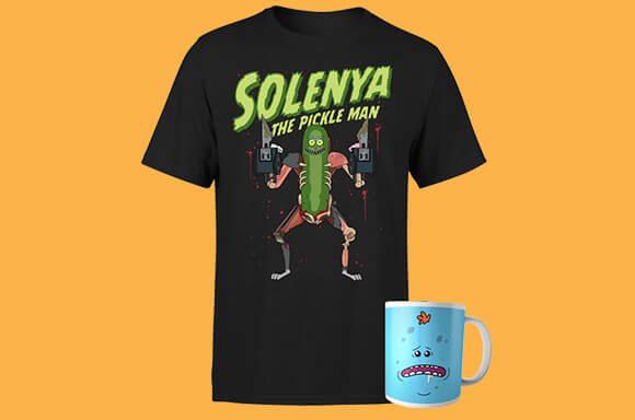 Camiseta y taza de 'Rick y Morty'