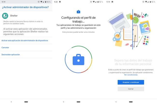 Cómo crear un perfil privado donde aislar a las aplicaciones de tus datos personales