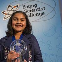 Esta niña de 12 años ganó el premio a la mejor científica joven de Estados Unidos