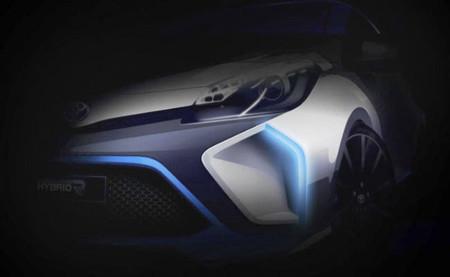 El prototipo Toyota Hybrid-R huele a Yaris y se mostrará en Fráncfort