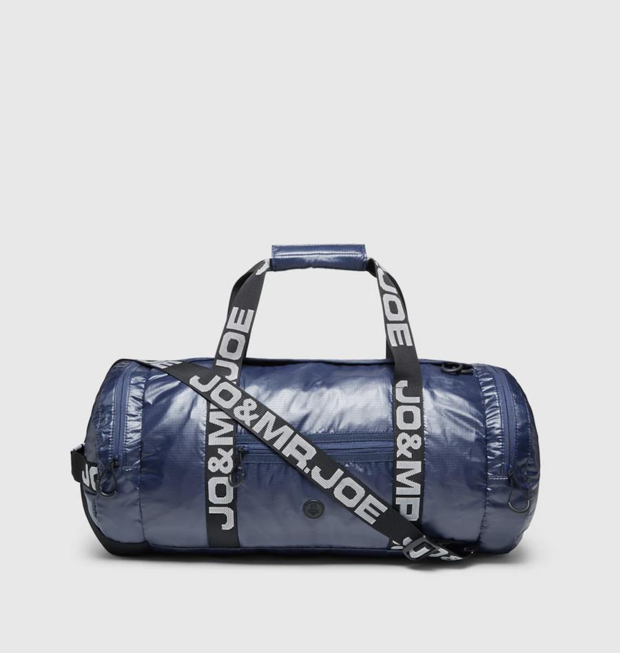 Bolsa de viaje Jo & Mr. Joe en azul marino con cremallera