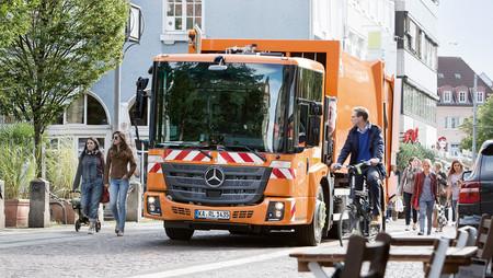 Mercedes-Benz eEconic, camión de basura eléctrico