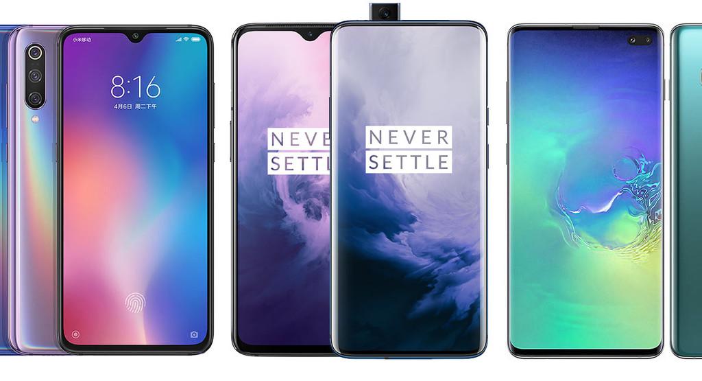 OnePlus siete y OnePlus siete Pro, comparativa: así queda contra Samsung™ Galaxy™ S10+, Xiaomi™ Mi 9, Huawei™ P30 Pro y resto de gama alta