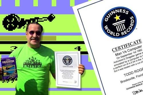 35 años después, Todd Rogers pierde su récord mundial en Dragster por haber hecho trampas