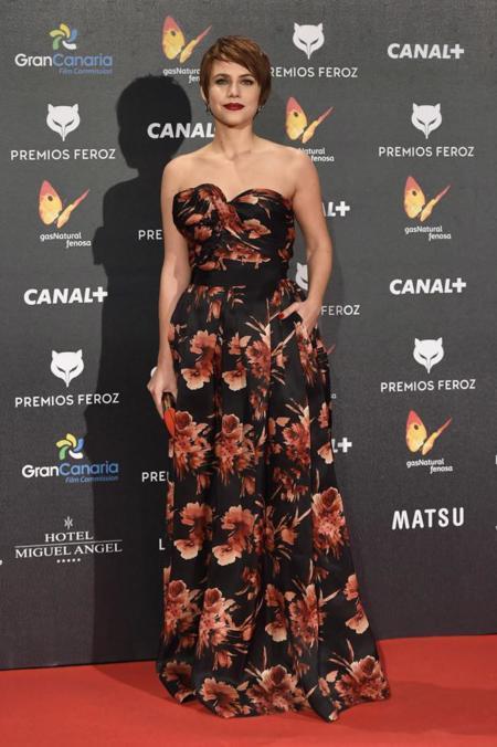 Aura Garrido en Premios Feroz 2015