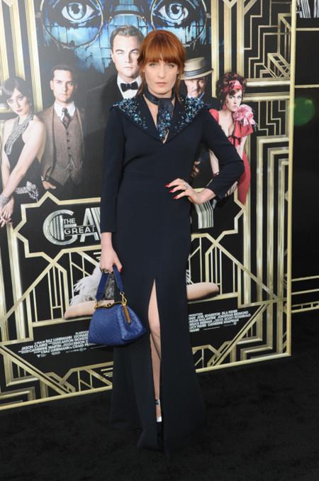 Carey look Gran Gatsby premiere