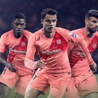 El FC Barcelona presenta oficialmente su tercera equipación oficial a través de PES 2019