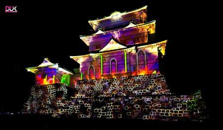 México ganó el primer lugar de video mapping en Japón con esta espectacular proyección en el castillo Odawara