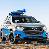 En Chevrolet se aburren y han hecho este concept para surferos con tabla incorporada: el Traverse SUP Concept