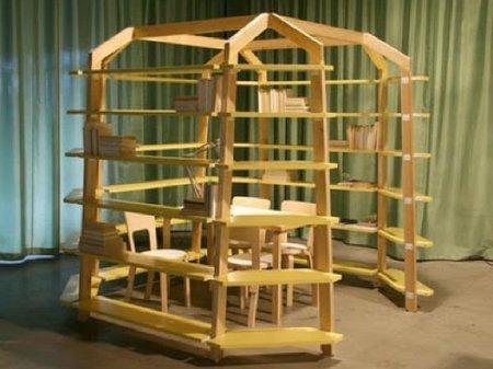 ¿Buena o mala idea?, una estantería con forma de iglú