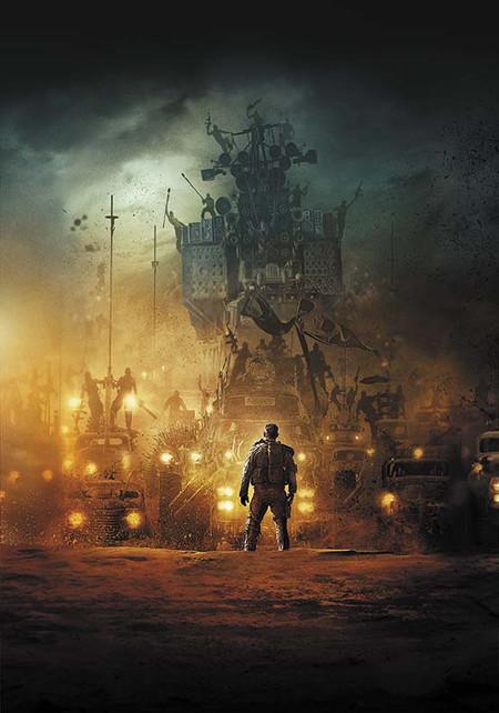 Portada del libro sobre el arte de Mad Max: Fury Road