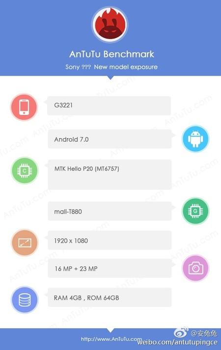 Sony G3221 Benchmark Antutu