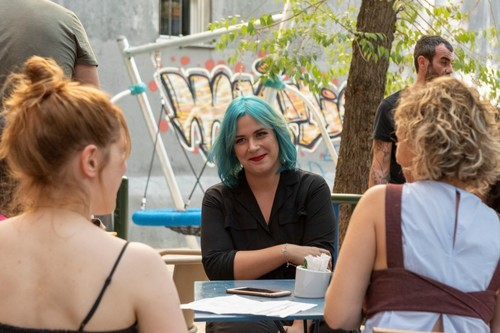 """""""Cuando escribí 'Valeria' mis referentes eran 'Sexo en Nueva York' y 'Girls', la serie lo ha limado muchísimo"""". Elísabet Benavent"""