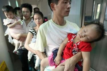 China, en busca de nodrizas