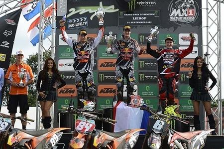 podium mx2 lierop