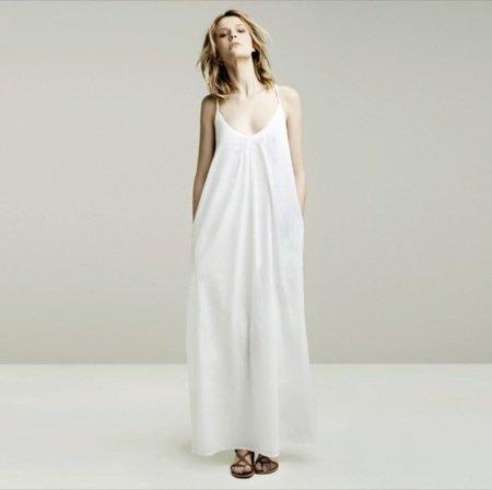 Maxi vestido lookbook mayo de Zara