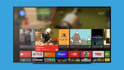 Google pone en Play Store el launcher de Android TV