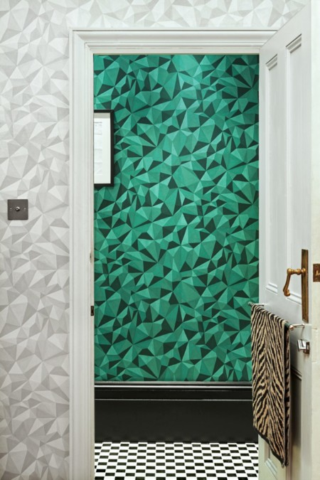 Papel Pintado Coleandson Cuarzo Verde
