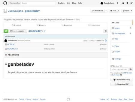 Alta en GitHub