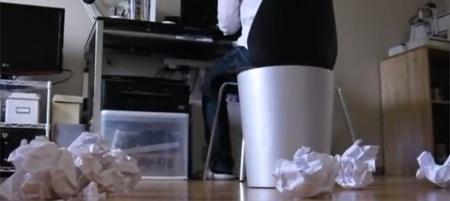 Papelera inteligente, estará siempre en cualquier lugar que tires la basura