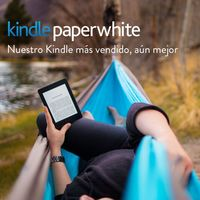 El lector de libros Kindle Paperwhite baja de precio en Amazon: 103,99 euros y envío gratis