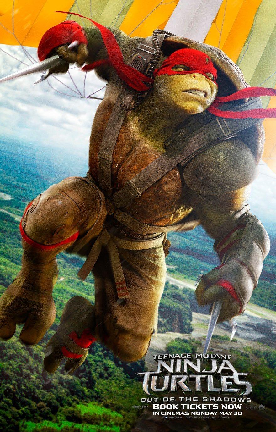 Foto de Carteles de 'Ninja Turtles 2: Fuera de las sombras' (1/18)