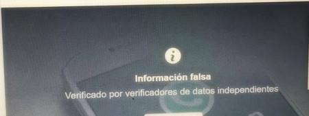 Informacion Falsa