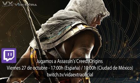 Jugamos en directo a Assassin's Creed: Origins a las 17:00h (las 10:00h en Ciudad de México) [Finalizado]