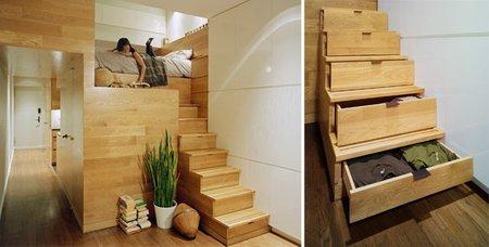 Casas que inspiran - estudio east village - dormitorio