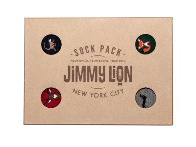 Si los Reyes Magos te traen calcetines, un año más, que sean tan divertidos como los de Jimmy Lion