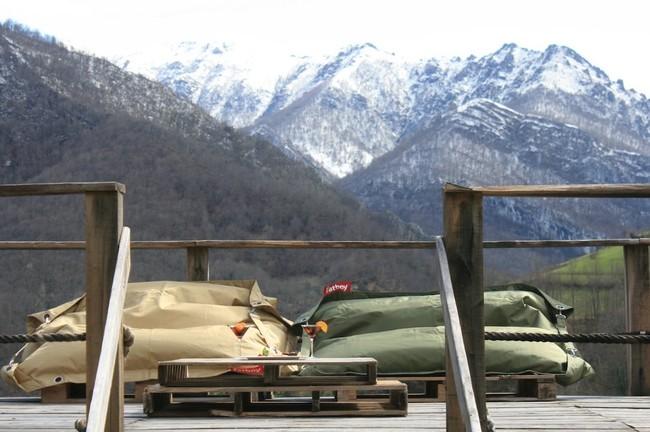Apartamentos Rurales Asturias Tierradelagua Terraza Chillout 12