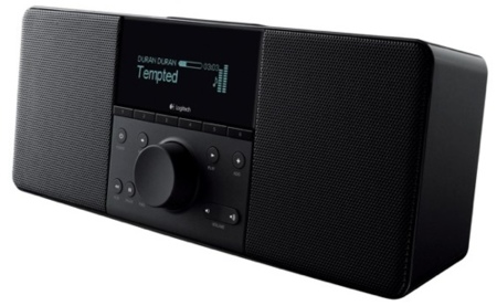 Logitech Squeezebox Boom, con altavoces integrados