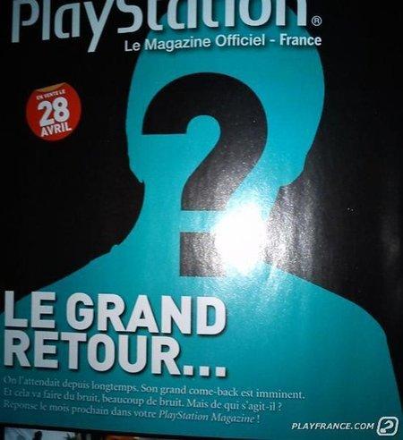 """La revista oficial PlayStation francesa avisa de un """"gran retorno""""... ¿Quién demonios será?"""