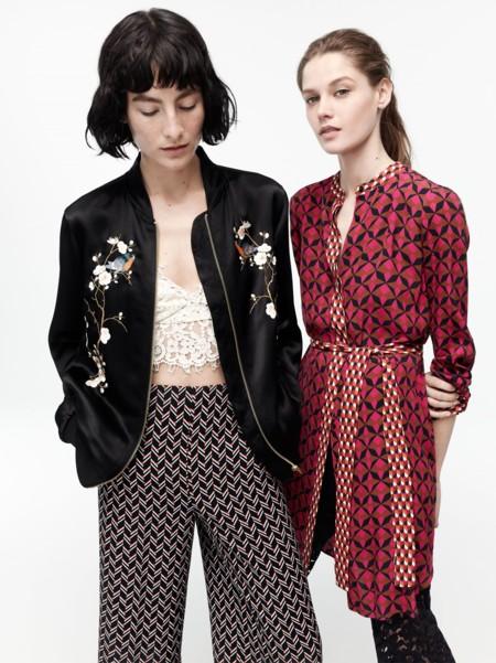 Rayas, flores y wallpaper, todos los estampados están en el catálogo Zara primavera-verano 2016