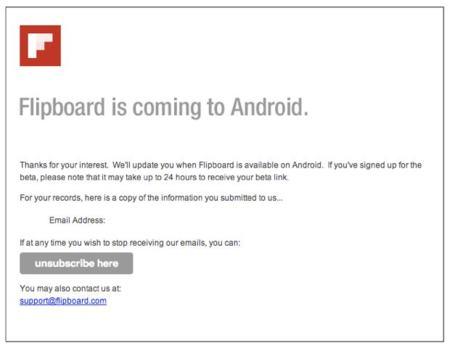 Flipboard para Android ya es oficial, en versión beta por el momento