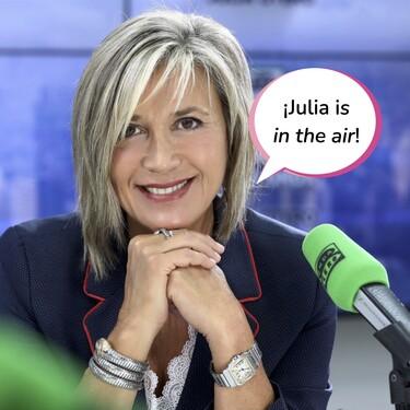 Julia Otero vuelve a la radio tras seis meses de lucha contra el cáncer, pero deja la puerta abierta a una nueva baja