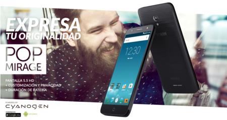 Alcatel POP Mirage, el primer móvil con Cyanogen OS que se vende oficialmente en México